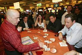 gamblers in casinos